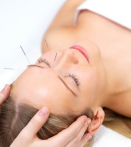 Facial rejuvenation acupunture